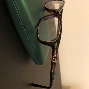 Coach tortoise frames. Elise HC6054